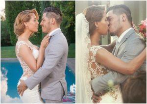 Transgender Carmen Carrera and Husband - Wedding Moment